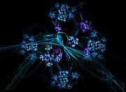 David Lane - Fractal Forget Me Not Bouquet